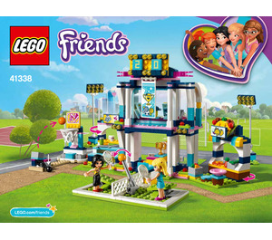 LEGO Stephanie's Sports Arena Set 41338 Instructions
