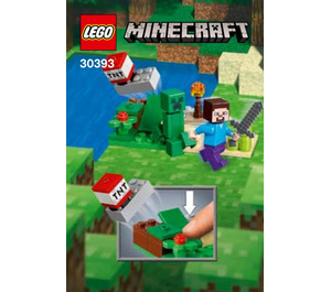 LEGO Steve and Creeper Set 30393