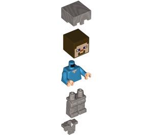 LEGO Steve Minifigure