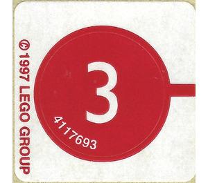 LEGO Sticker for Set 2537