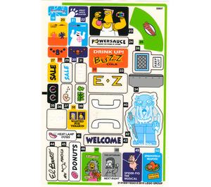 LEGO Sticker for Set 71016 - Sheet 2 (21419)