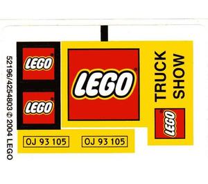 LEGO Sticker Sheet for Set 10156 (52196)