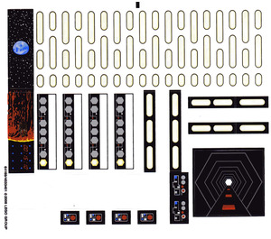 LEGO Sticker Sheet for Set 10188 (64169)