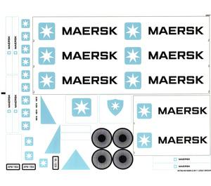 LEGO Sticker Sheet for Set 10219 (94765)