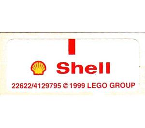 LEGO Sticker Sheet for Set 1250-1 / 1251-1 (22622)