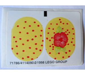 LEGO Sticker Sheet for Set 3204 / 3210 (71786)