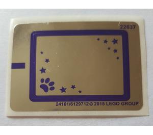 LEGO Sticker Sheet for Set 41114 (24161)