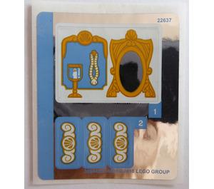 LEGO Sticker Sheet for Set 41153 (36944)