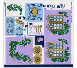 LEGO Sticker Sheet for Set 41154 (37036)