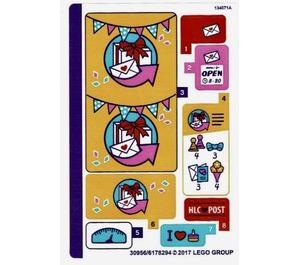 LEGO Sticker Sheet for Set 41310 (30956)