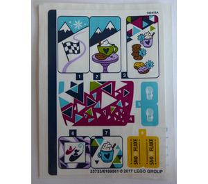 LEGO Sticker Sheet for Set 41319 (33733)