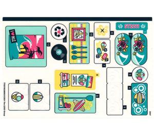 LEGO Sticker Sheet for Set 41693 (77537)