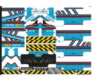 LEGO Sticker Sheet for Set 42070 (33496)