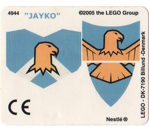 LEGO Sticker Sheet for Set 4944