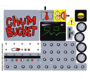 LEGO Sticker Sheet for Set 4981 (60497)