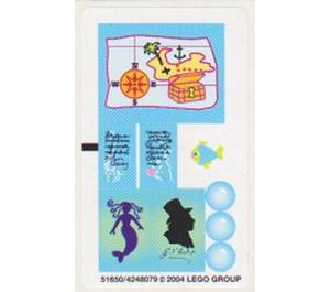 LEGO Sticker Sheet for Set 5960 (51650)
