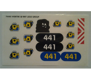 LEGO Sticker Sheet for Set 6441 (71449)