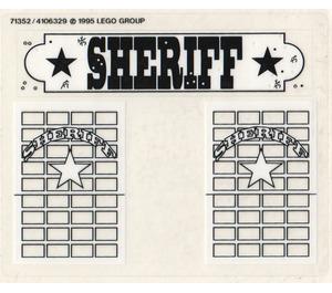 LEGO Sticker Sheet for Set 6755 / 6764 (71352)