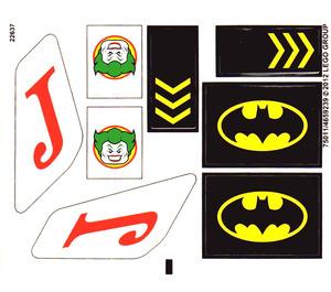LEGO Sticker Sheet for Set 6863 (75011)