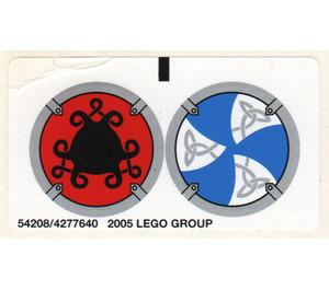 LEGO Sticker Sheet for Set 7018 (54208)