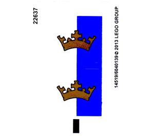 LEGO Sticker Sheet for Set 70402 (14519)