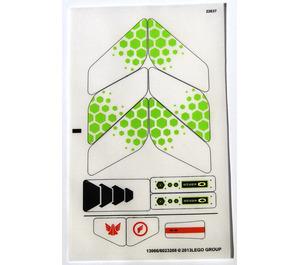 LEGO Sticker Sheet for Set 70702 (13066)