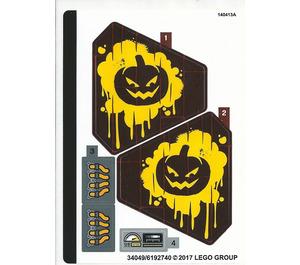 LEGO Sticker Sheet for Set 70913 (34049)