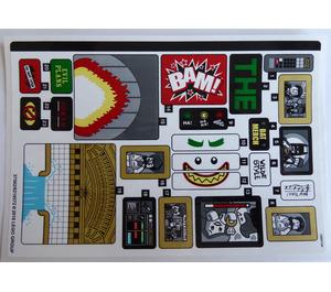 LEGO Sticker Sheet for Set 70922 (37562)