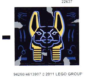 LEGO Sticker Sheet for Set 7327 (94260)