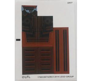 LEGO Sticker Sheet for Set 75058 (17603)
