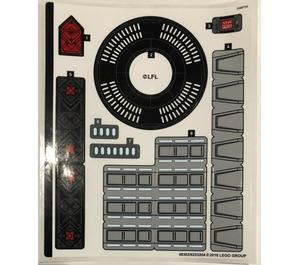 LEGO Sticker Sheet for Set 75251 (48302)
