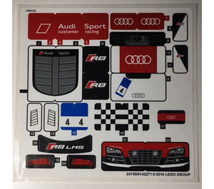 LEGO Sticker Sheet for Set 75873 (24755 / 24757)
