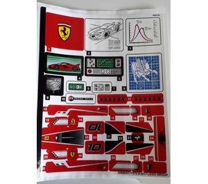 LEGO Sticker Sheet for Set 75882 (30899)