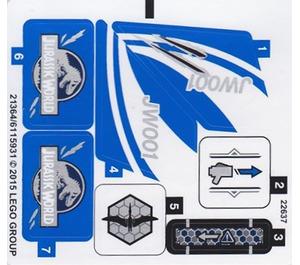 LEGO Sticker Sheet for Set 75915 (21364 / 21365)