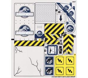 LEGO Sticker Sheet for Set 75919 (21373)