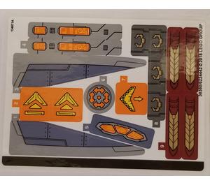 LEGO Sticker Sheet for Set 76107 (38380)