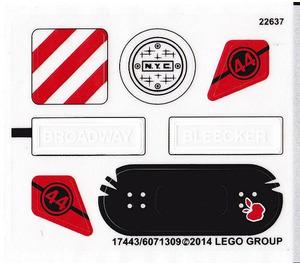 LEGO Sticker Sheet for Set 79118 (17443)