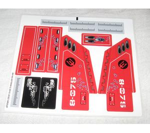 LEGO Sticker Sheet for Set 8075 (89145)