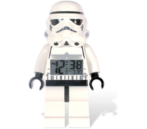 LEGO Storm Trooper Minifigure Clock (2856080)