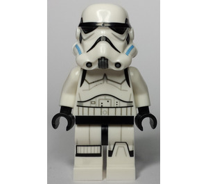 LEGO Stormtrooper with Printed Legs and Dark Azure Helmet Vents (75053) Minifigure