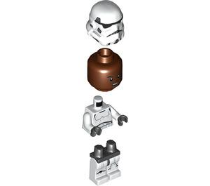 LEGO Stormtrooper with Reddish Brown Head Minifigure