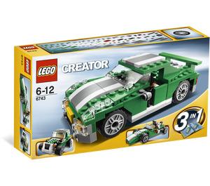 LEGO Street Speeder Set 6743 Packaging