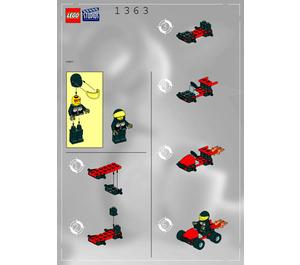 LEGO Stunt Go-Cart Set 1363 Instructions