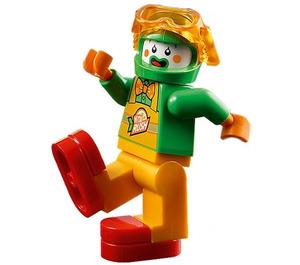LEGO Stuntz Clown Minifigure