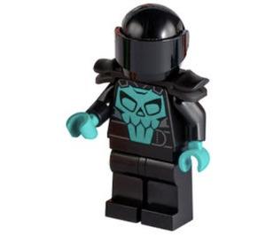 LEGO Stuntz Driver - Skull Torso Minifigure