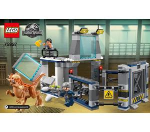 LEGO Stygimoloch Breakout Set 75927 Instructions