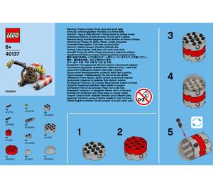 LEGO Submarine Set 40137 Instructions