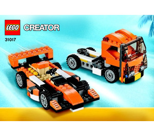 LEGO Sunset Speeder Set 31017 Instructions