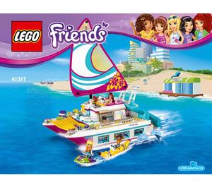 LEGO Sunshine Catamaran Set 41317 Instructions