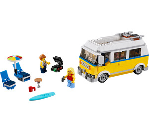 LEGO Sunshine Surfer Van Set 31079